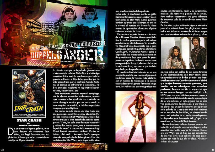 """Maquetación y diseño de la Revista """"RAGE"""" 1"""