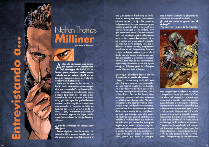 """Maquetación y diseño de la Revista """"RAGE"""" 2"""