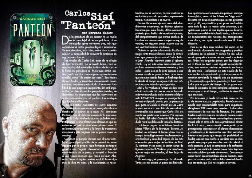 """Maquetación y diseño de la Revista """"RAGE"""" 3"""
