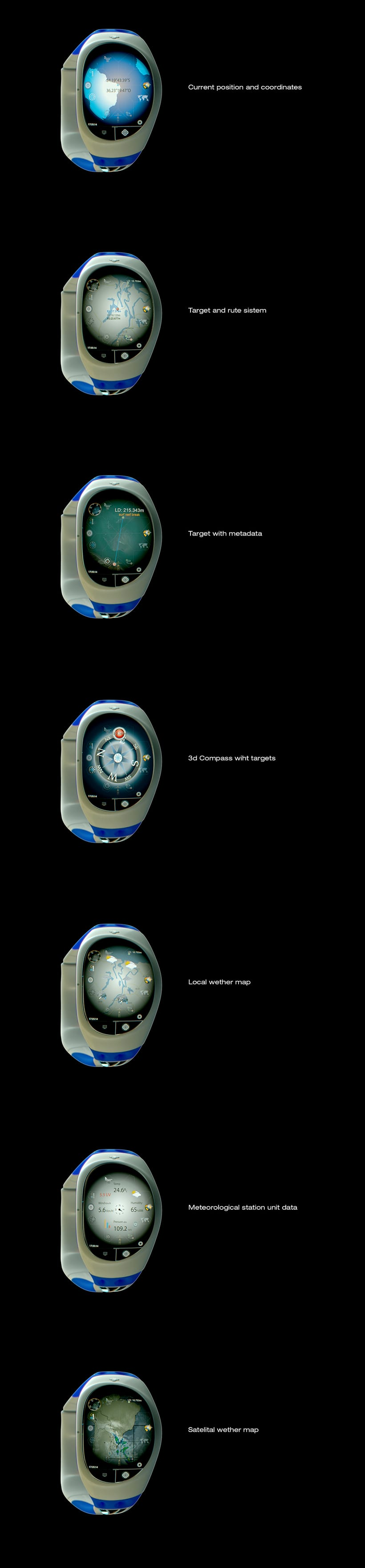 SIX SENSE SMARTWATCH & ADVENTURE DEVICE.  9