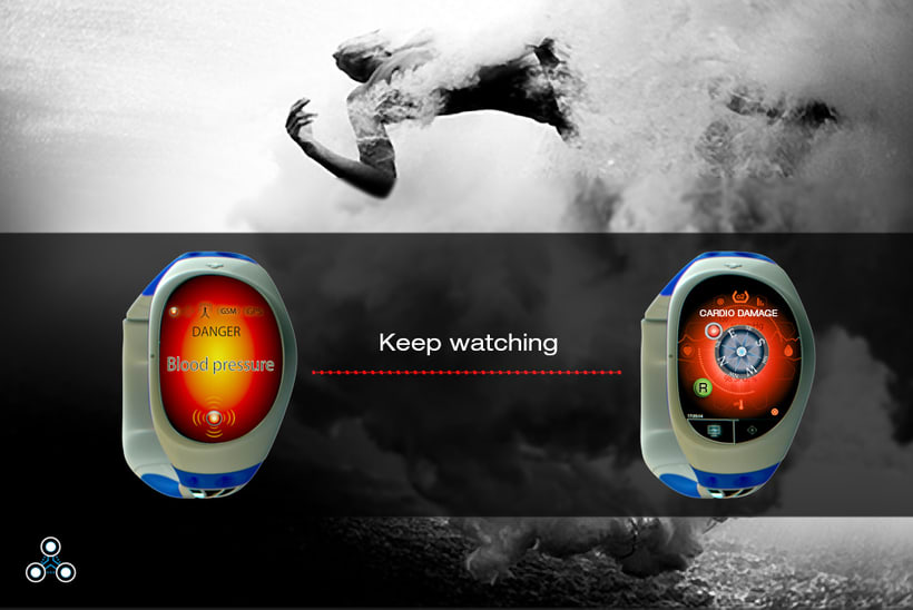 SIX SENSE SMARTWATCH & ADVENTURE DEVICE.  10