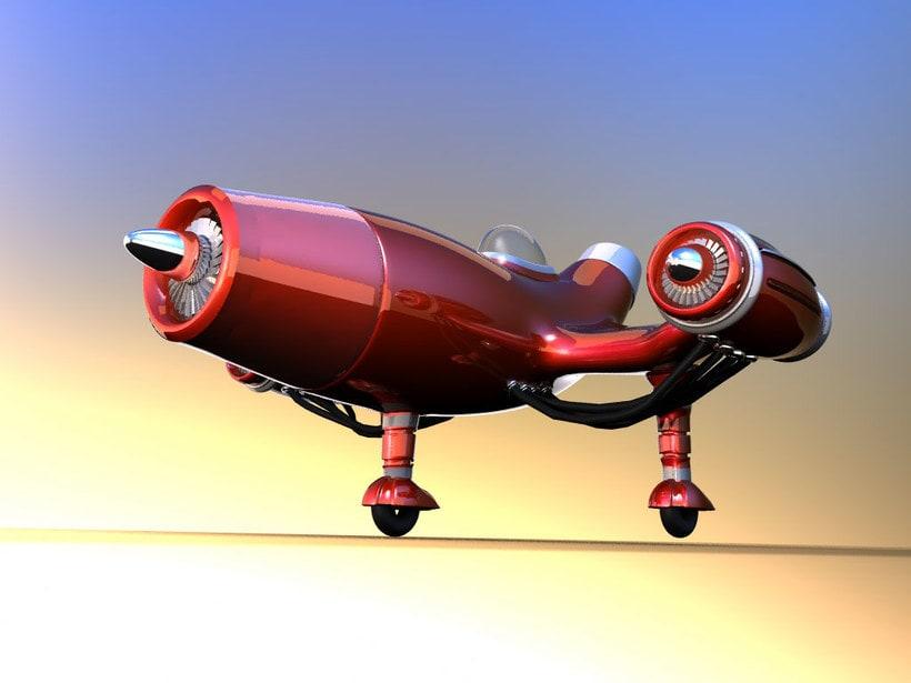 Aeroplano 3D 0