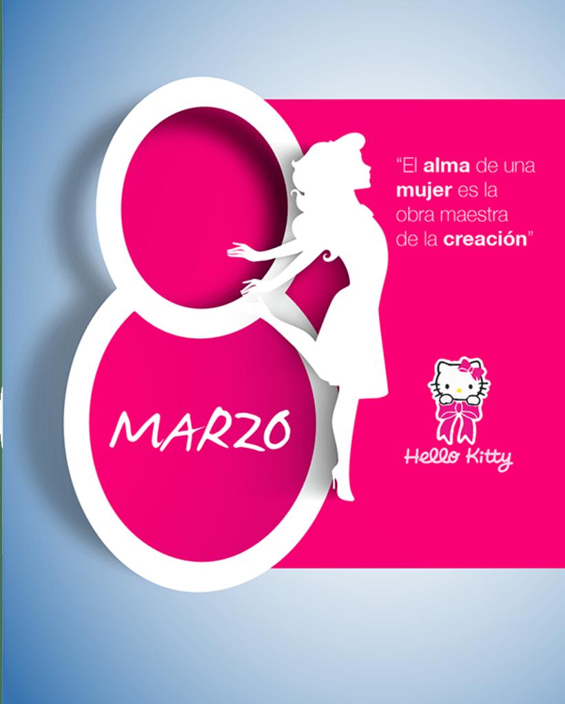 8 de Marzo, día internacional de la mujer. 0