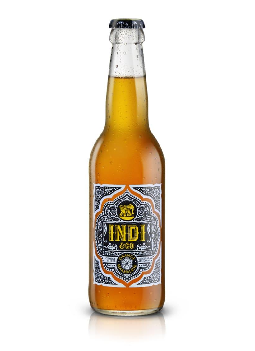 INDI&CO. Nueva familia de refrescos. 0