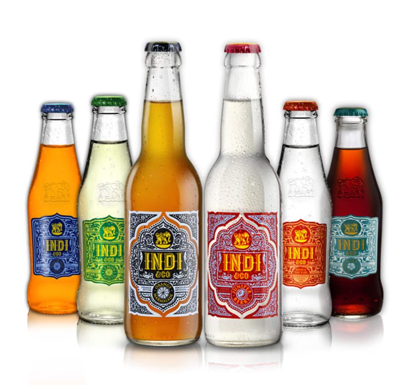 INDI&CO. Nueva familia de refrescos. 5
