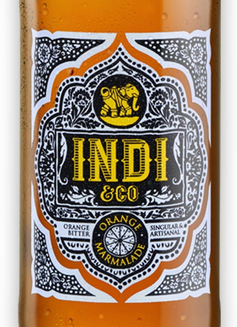 INDI&CO. Nueva familia de refrescos. 1