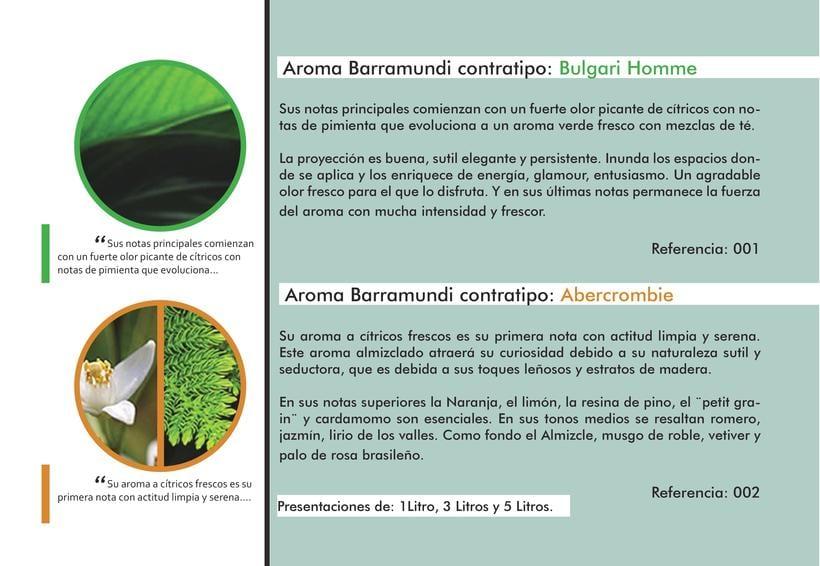 Catálogo Aromas Barramundi 2015 1