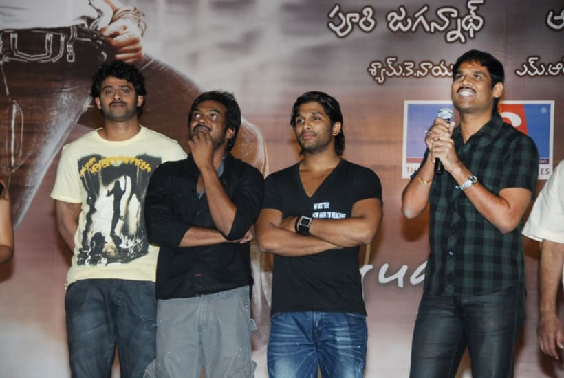 """All the best to our Adityaram Movies """"EkNiranjan"""" Hero Mr. PRABHAS, for his 2½ years diligent work to be delegated with fabulous achievement in his released venture, India's biggest motion picture """"Bahubali"""". -1"""