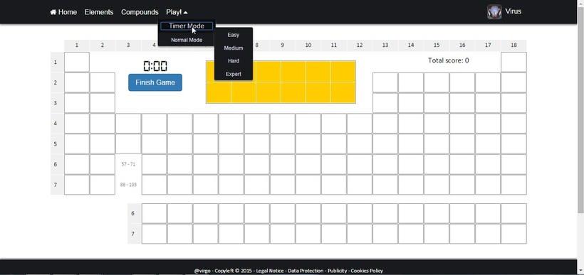 PeTaIRON, la web donde puedes aprenderte la tabla periódica de la forma más divertida. 15