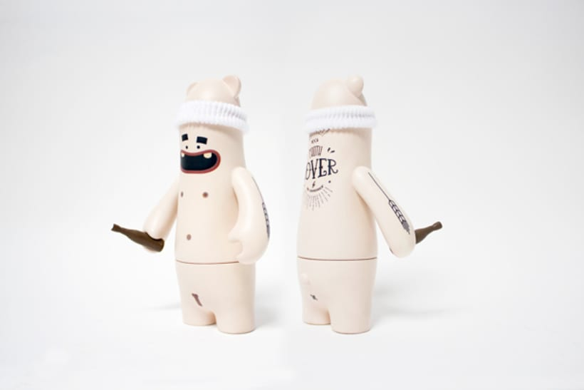 Froth Lover for Brew Toys Exhibition. 1
