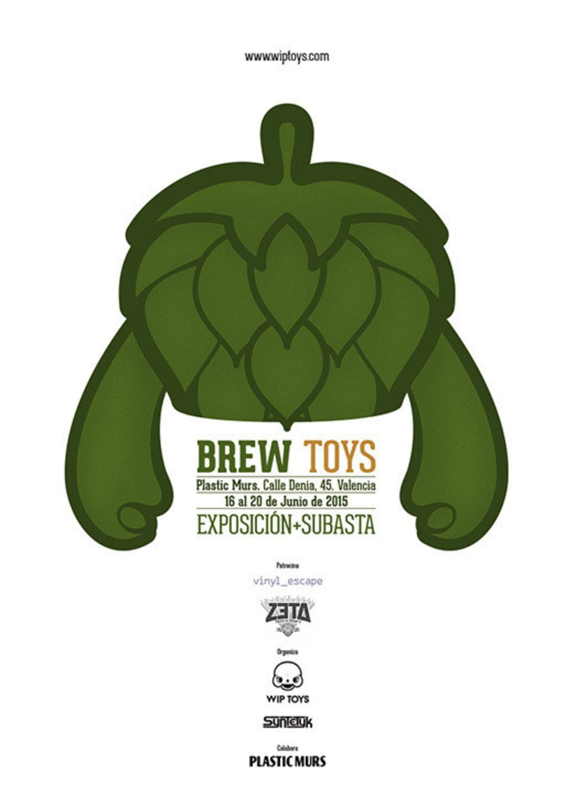 Froth Lover for Brew Toys Exhibition. 4