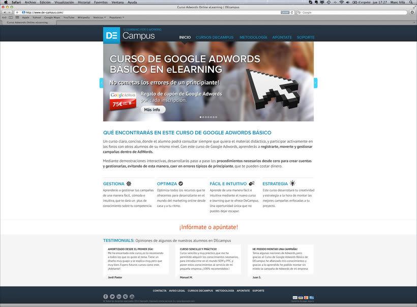 De-Campus | Web 0