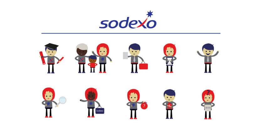 Personajes para SODEXO 0