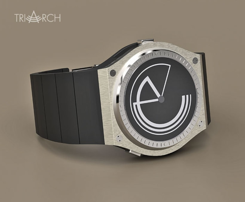 TRIARCH. Analog watch concept 3