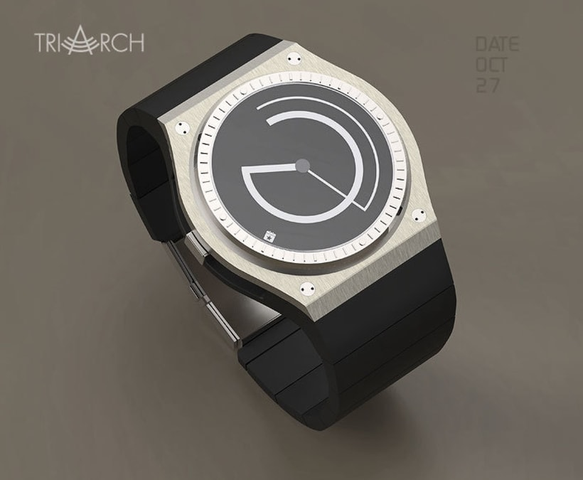 TRIARCH. Analog watch concept 4