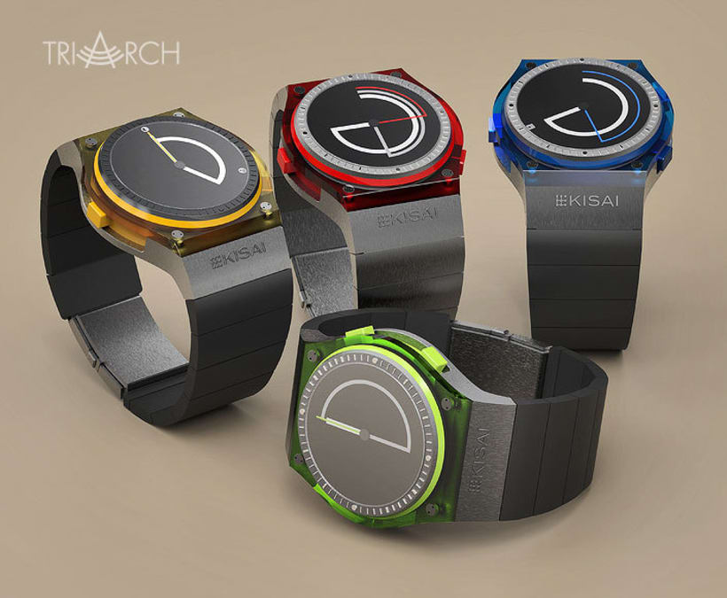 TRIARCH. Analog watch concept 6