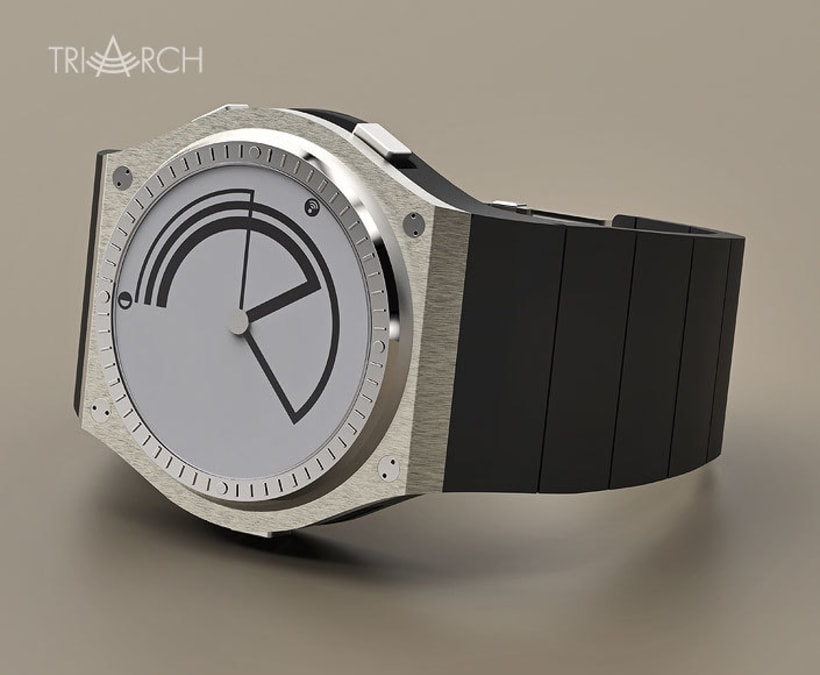 TRIARCH. Analog watch concept 8
