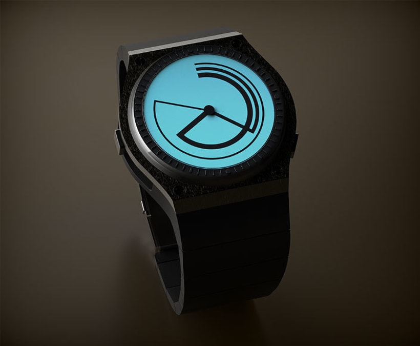 TRIARCH. Analog watch concept 9