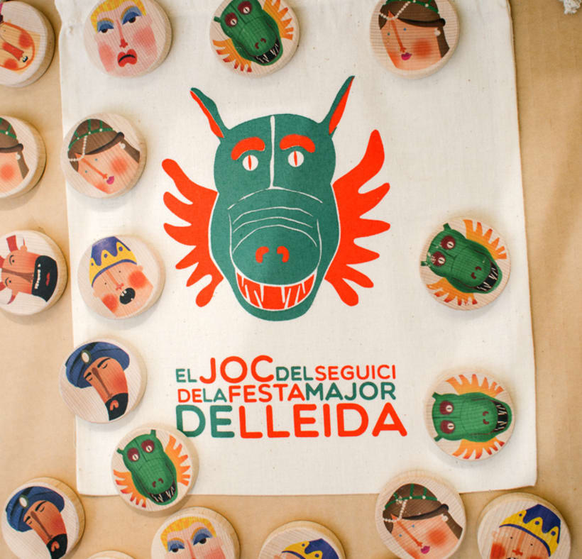 """""""El joc del Seguici"""" de la Fiesta Major de Lleida by @NusCreacions 3"""