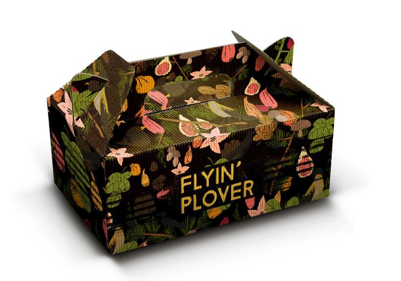 Flying' Plover, etiqueta para cerveza 3
