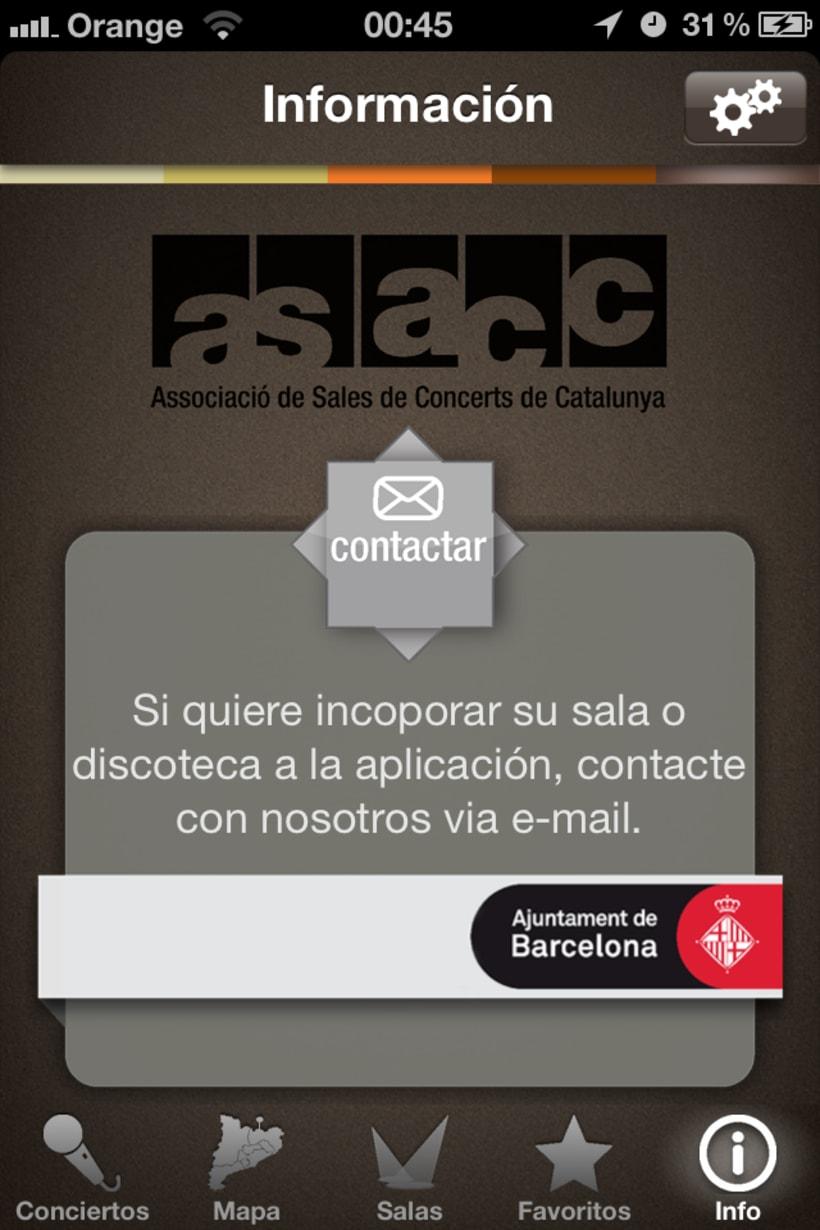 InfoConecerts - ASACC: ASSOCIACIÓN DE SALAS DE CONCIERTOS DE CATALUÑA 3