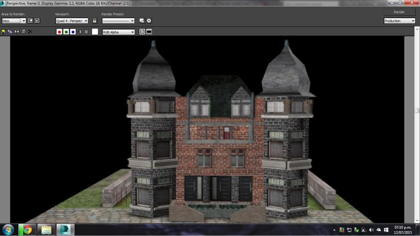 Modelado de casa 3D con 3DSMAX 0
