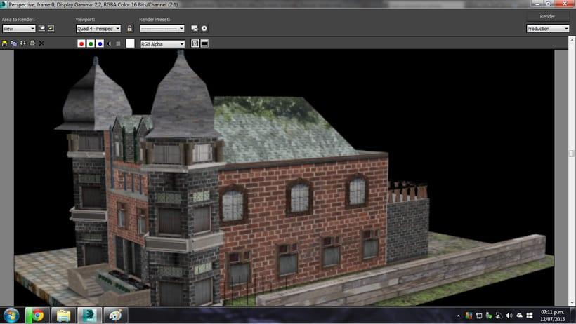 Modelado de casa 3D con 3DSMAX 1