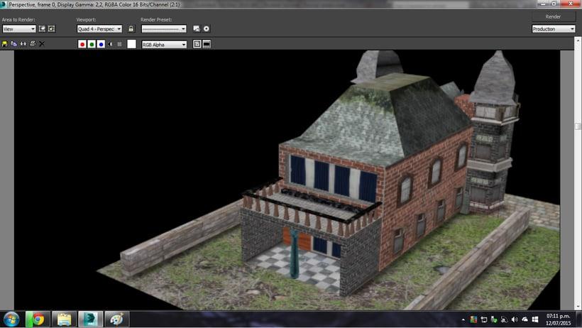 Modelado de casa 3D con 3DSMAX 3