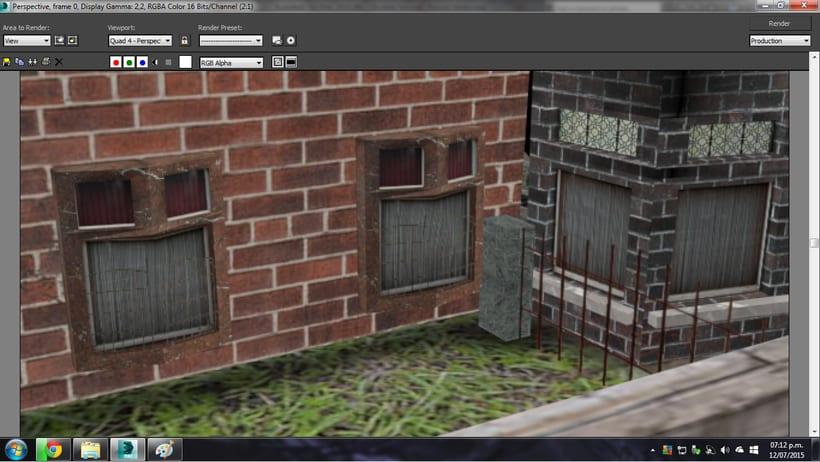 Modelado de casa 3D con 3DSMAX 4