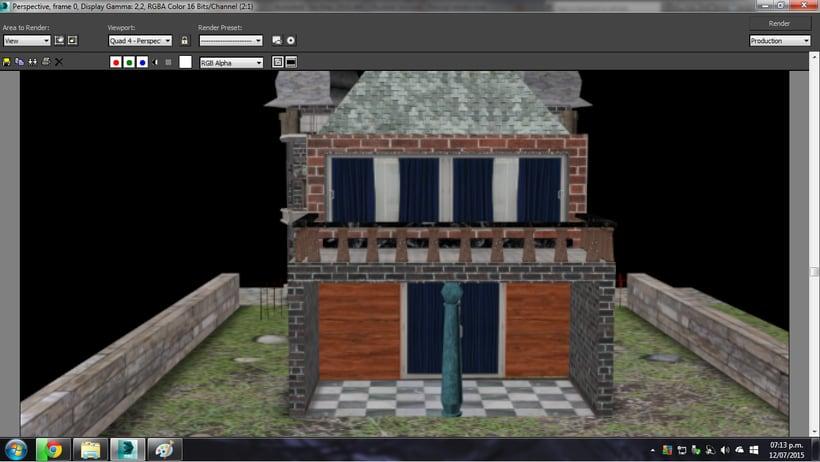Modelado de casa 3D con 3DSMAX 2