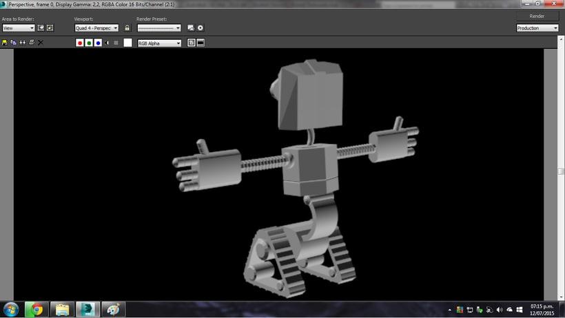 Robot 3D 0
