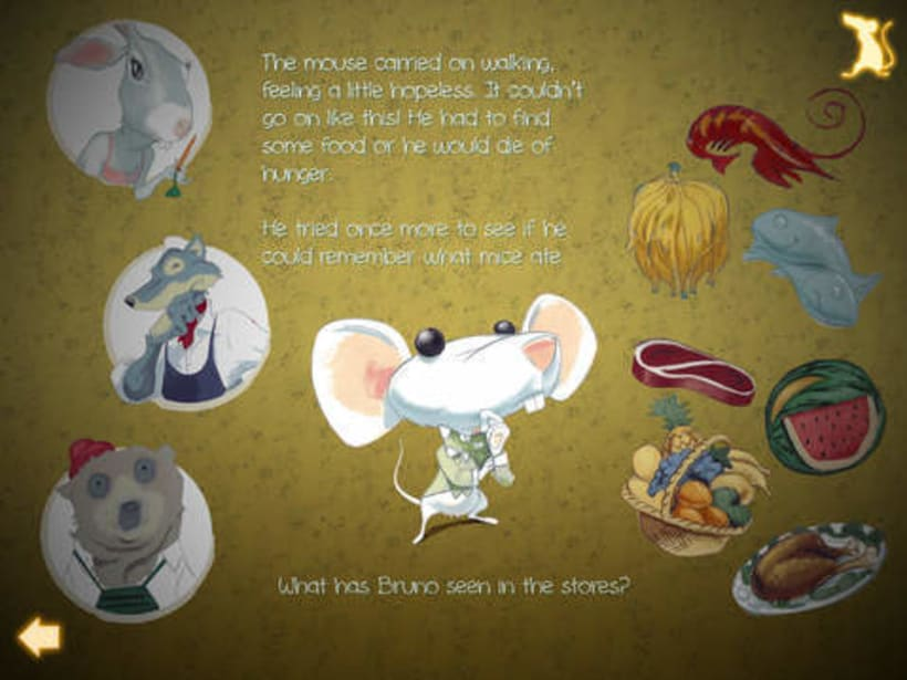 What mice eat? An interactive story ebook.  10