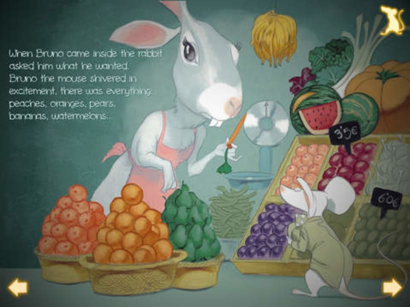 What mice eat? An interactive story ebook.  8