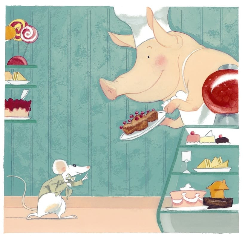 What mice eat? An interactive story ebook.  9