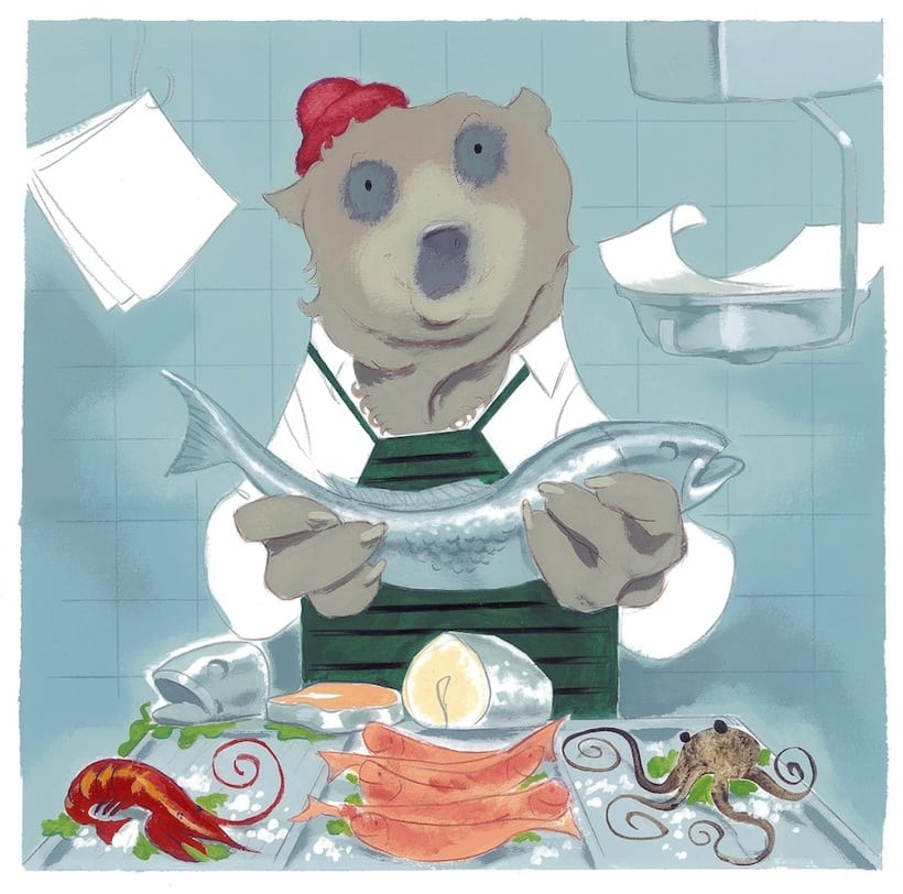 What mice eat? An interactive story ebook.  5