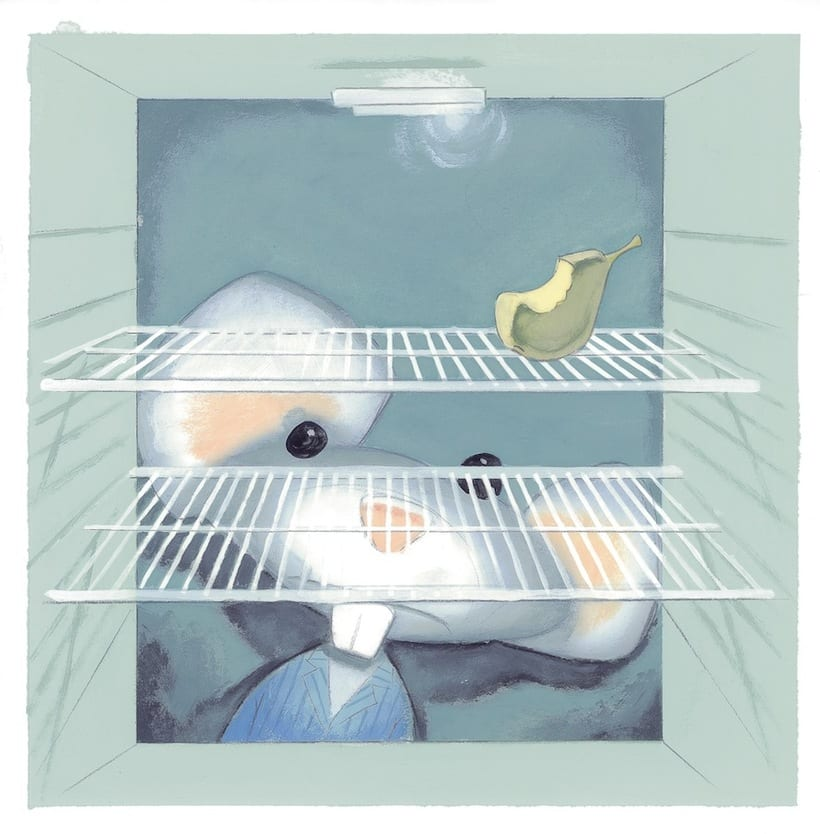 What mice eat? An interactive story ebook.  3