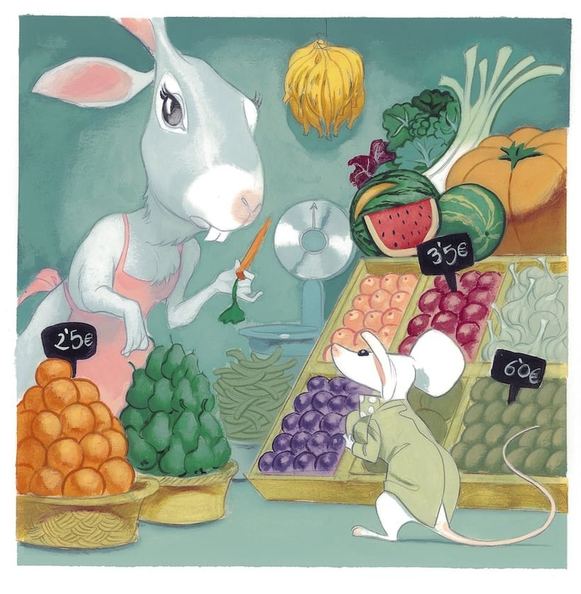 What mice eat? An interactive story ebook.  7
