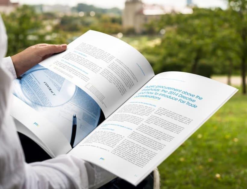 Maquetación y diseño de Guía Temática del proyecto PRICE 3