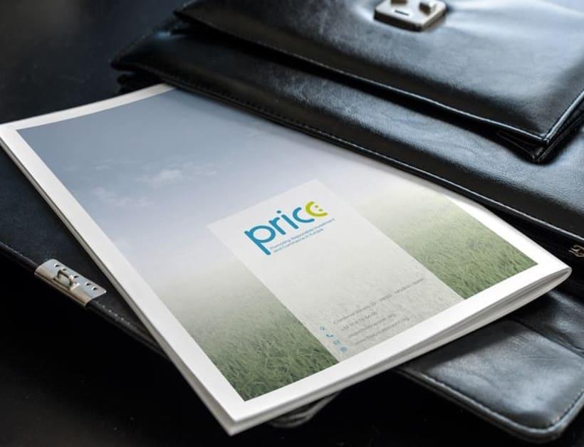 Maquetación y diseño de Guía Temática del proyecto PRICE 4
