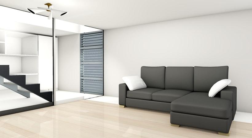 Habitación en  3D 0