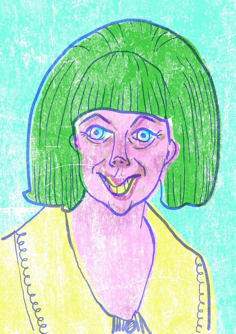 Mi Proyecto del curso Ilustración original de tu puño y tableta  2