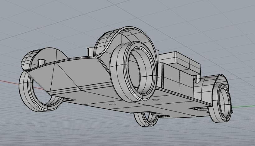 Impresión  3D, bmw serie 5 E60 0