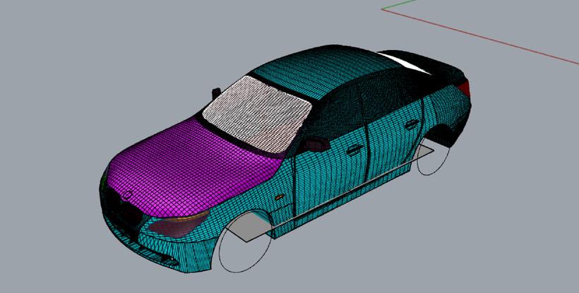 Impresión  3D, bmw serie 5 E60 1