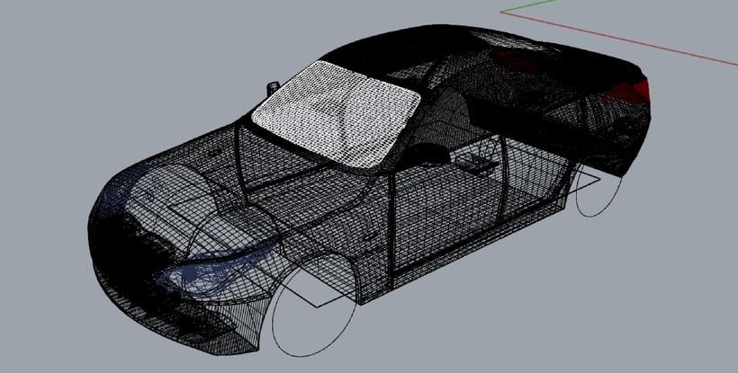 Impresión  3D, bmw serie 5 E60 2