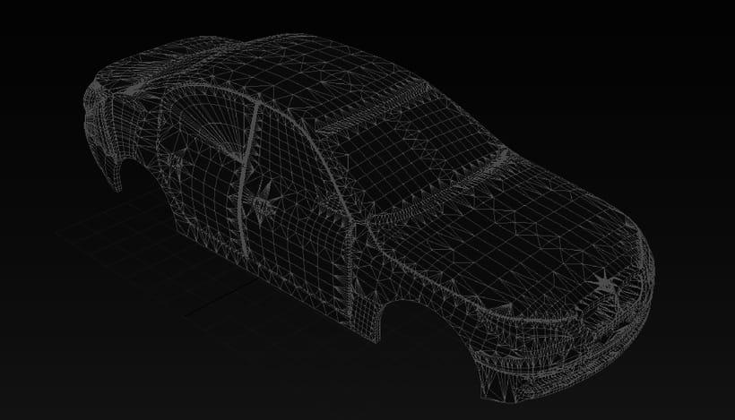 Impresión  3D, bmw serie 5 E60 3