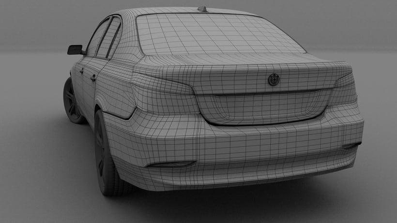 Impresión  3D, bmw serie 5 E60 5