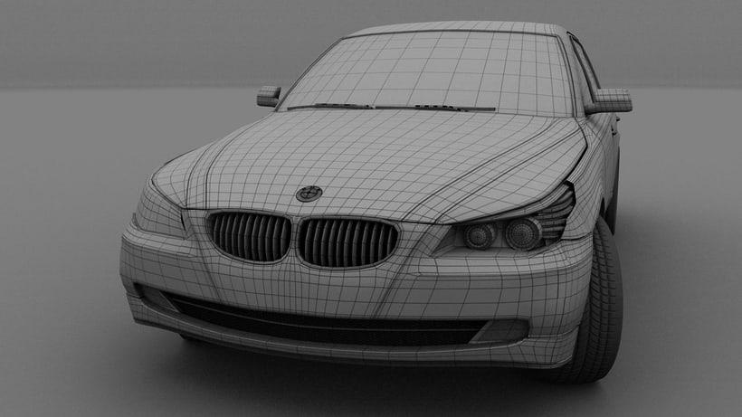 Impresión  3D, bmw serie 5 E60 11