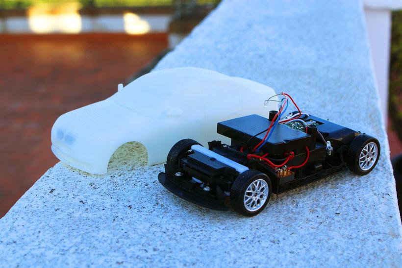 Impresión  3D, bmw serie 5 E60 12
