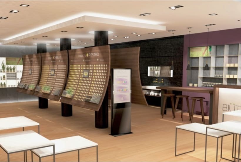 BIUTICAL - retail design concept  8