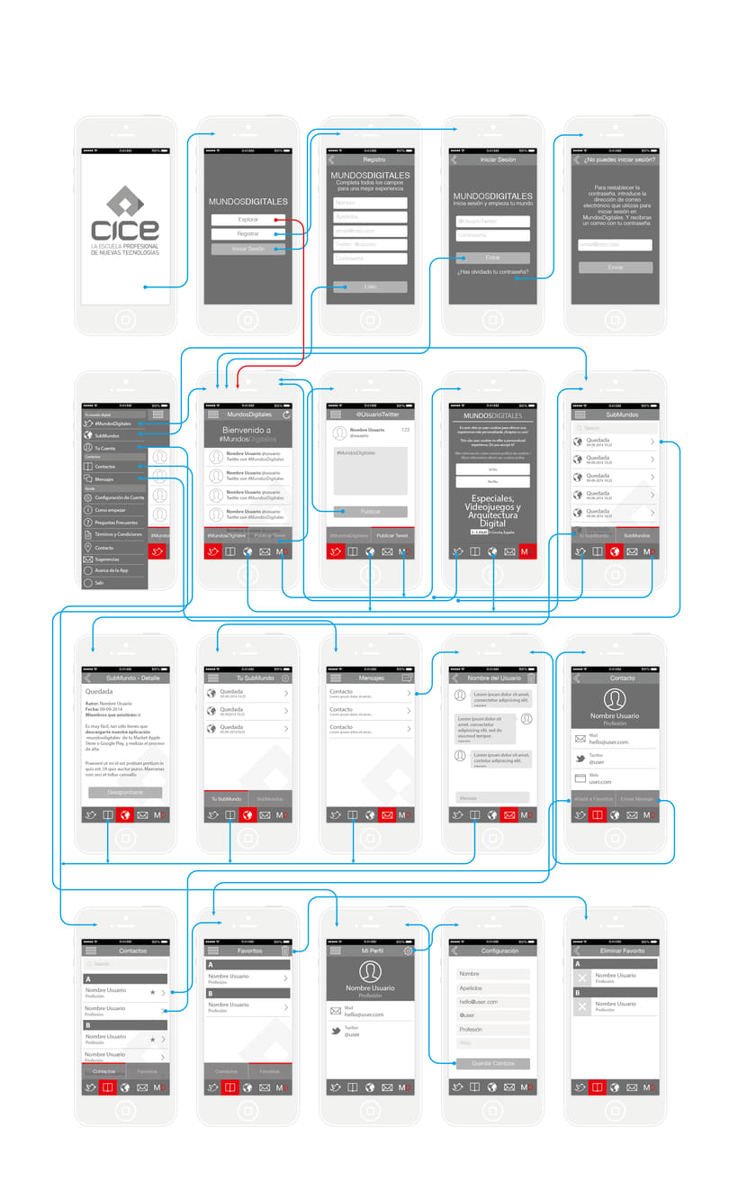 Wireframe App MD 0